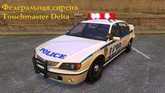 Sirène fédéral Touchmaster Delta