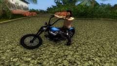 Harley Davidson Shovelhead für GTA Vice City
