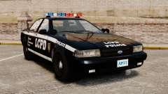 GTA V Vapid Police Cruiser [ELS]