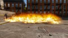 Die neue Einstellung von Bränden und Explosionen