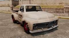 Rostigen alten Lastwagen