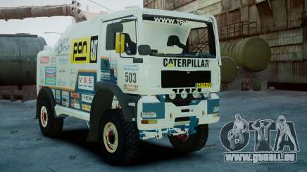 MAN TGA GINAF Dakar Race Truck pour GTA 4