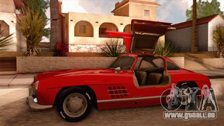 Mercedes-Benz 300SL Gullwing für GTA San Andreas