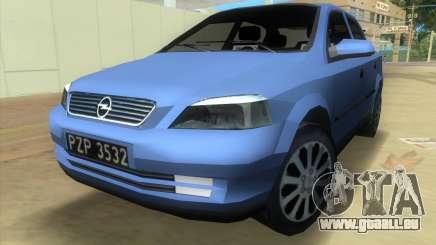 Opel Astra 4door 1.6 TDi Sedan pour GTA Vice City