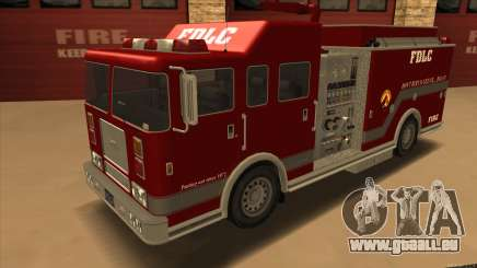 Firetruck HD from GTA 3 pour GTA San Andreas