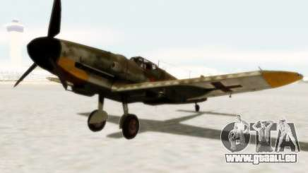 Bf-109 G6 pour GTA San Andreas