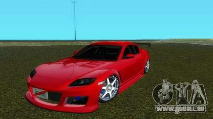 Mazda RX8 Type 1 pour GTA Vice City