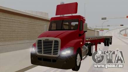 Freghtliner Cascadia Daycab 6x2 für GTA San Andreas