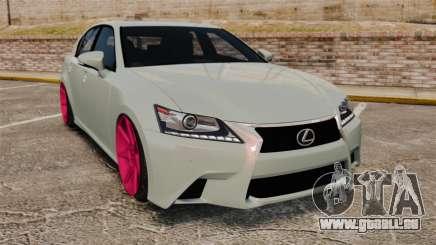 Lexus GS 350 2013 pour GTA 4