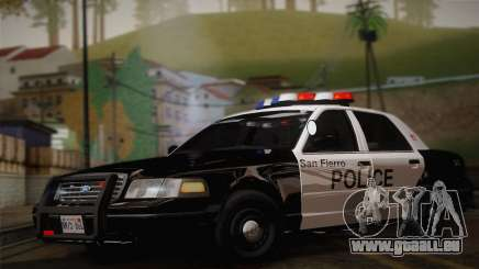 Ford Crown Victoria 2005 Police für GTA San Andreas