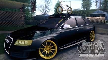 Audi Avant RS6 LowStance für GTA San Andreas