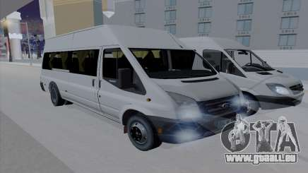 Ford Transit Jumgo pour GTA San Andreas