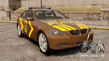 BMW 350i Indonesia Police v2 [ELS] für GTA 4