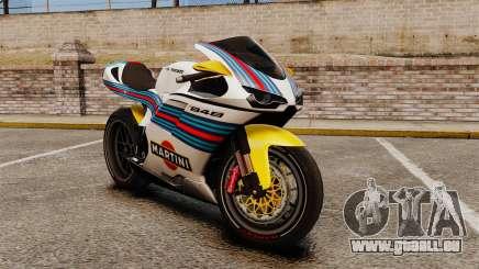 Ducati 848 Martini für GTA 4