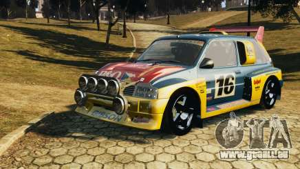 MG Metro 6r4 pour GTA 4