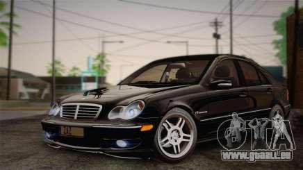 Mercedes-Benz C32 AMG 2004 pour GTA San Andreas