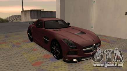 Mercedes-Benz SLS AMG 2013 Black Series pour GTA San Andreas