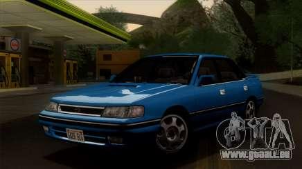 Subaru Legacy 2.0 RS (BC) 1989 pour GTA San Andreas