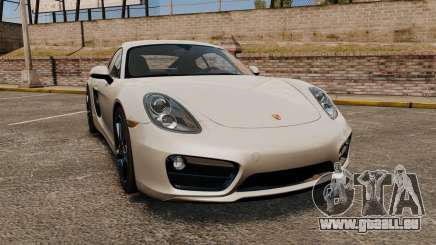 Porsche Cayman S 981C pour GTA 4