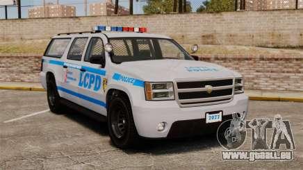 GTA V Declasse Police Ranger 3500PE [ELS] für GTA 4