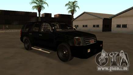 GMC Yukon ATTF pour GTA San Andreas