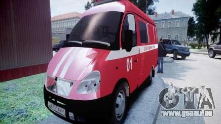 Gazelle-2705-Feuer-zentrale für GTA 4
