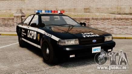 GTA V Vapid Police Cruiser [ELS] für GTA 4