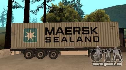 Anhänger MAERSK für GTA San Andreas