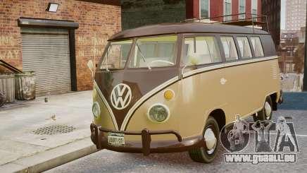 Volkswagen Transporter 1962 pour GTA 4