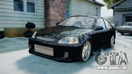 Honda Civic FnF pour GTA 4