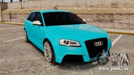 Audi RS3 Sportback [Typ 8PA] 2011 pour GTA 4