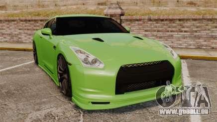 Nissan GT-R SpecV 2010 pour GTA 4