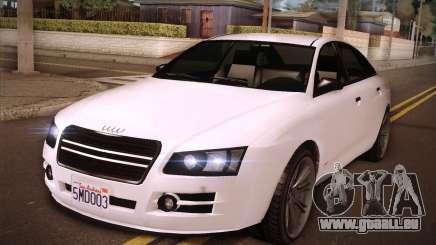 GTA V Tailgater pour GTA San Andreas