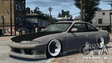 Nissan S14 Zenki JDM v2.0 für GTA 4