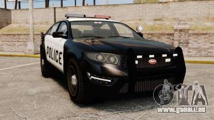 GTA V Vapid Police Interceptor [ELS] für GTA 4