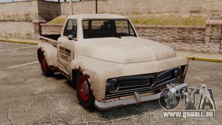 Rouillée vieux camion pour GTA 4