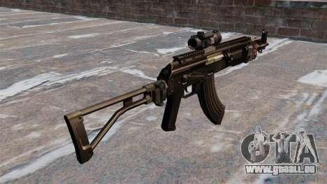 Kalaschnikow AK-47 Sopmod für GTA 4 Sekunden Bildschirm