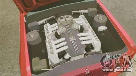 Rolls-Royce Phantom Mansory pour GTA 4 est une vue de l'intérieur