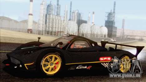 Pagani Zonda R SPS v3.0 Final pour GTA San Andreas