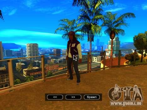 Pak skins Mädchen für GTA San Andreas elften Screenshot
