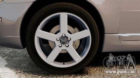 Volvo V70 Unmarked Police [ELS] für GTA 4 Rückansicht