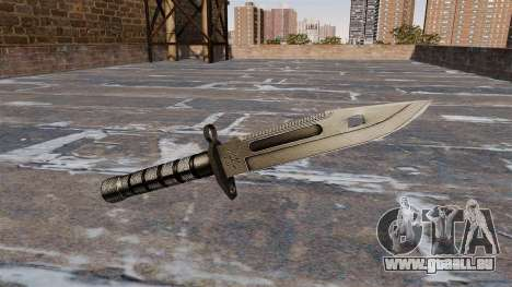 Baïonnette M9 pour GTA 4