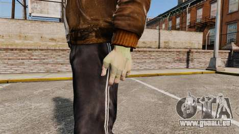 Handschuhe für GTA 4 Sekunden Bildschirm