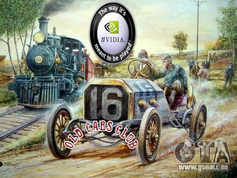 New loadscreen Old Cars für GTA San Andreas