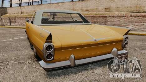 Peyote 1950 pour GTA 4 Vue arrière de la gauche