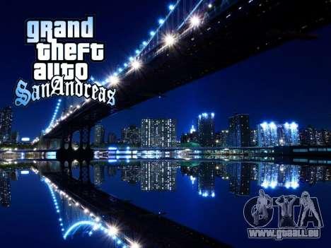 Loadscreens New-York pour GTA San Andreas septième écran
