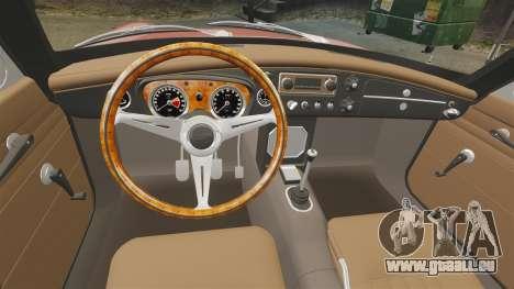 MG MGB GT 1965 pour GTA 4 Vue arrière