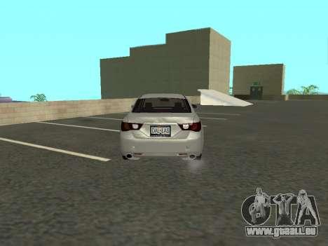 Toyota Mark X für GTA San Andreas rechten Ansicht