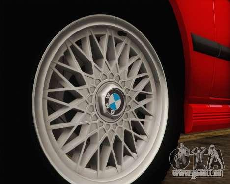 BMW M5 E28 für GTA San Andreas obere Ansicht