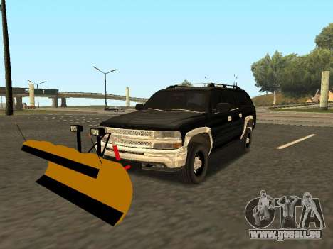 Chevrolet Suburban für GTA San Andreas Rückansicht